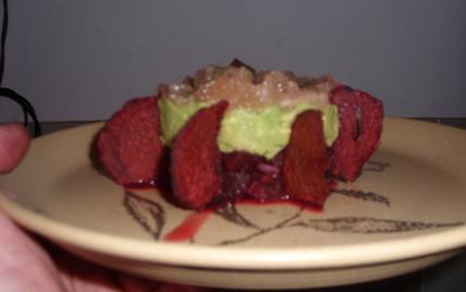 recette - tartare de betteraves au pamplemousse rose