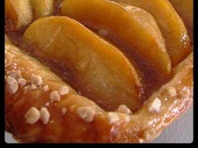 recette - tarte aux pommes à l'érable