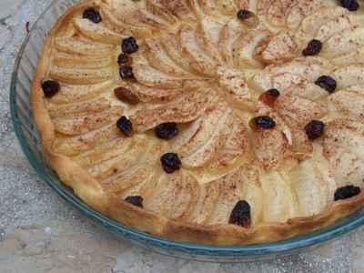 recette - tarte aux pommes maison