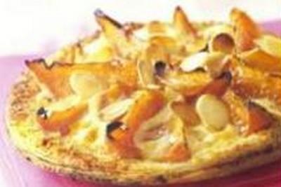 recette - tarte fine d'abricots à la crème pâtissière