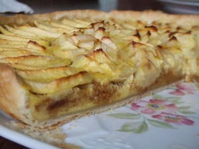 recette - tarte pomme & pain d'épices