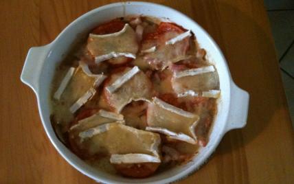 recette - tomates au brie