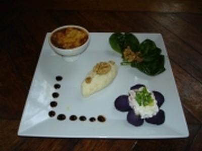 recette - trilogie de pommes de terre à l'italienne