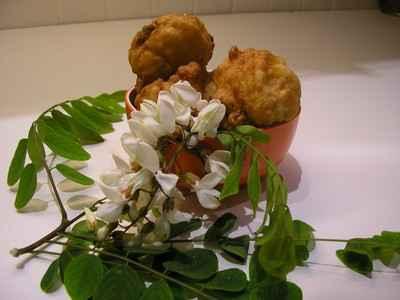 recette - beignets aux fleurs d'acacias