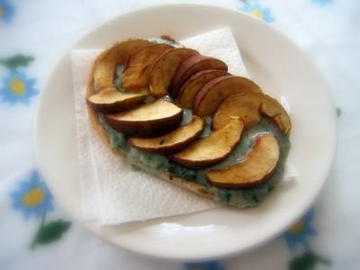 recette - bouchée poire gorgonzolla