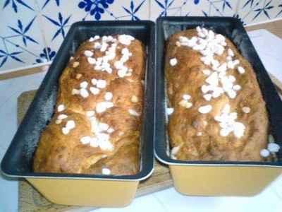 recette - brioche aux grains de sucre