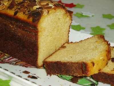 recette - cake au chèvre frais et miel