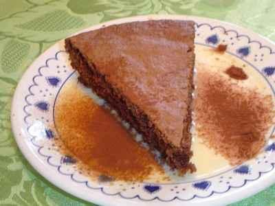 recette - gâteau chocolat noisette