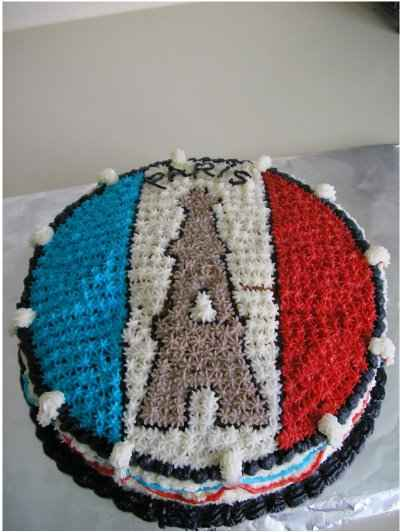recette - gâteau fondant et son nappage fantaisie
