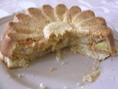 recette - gâteau pommes