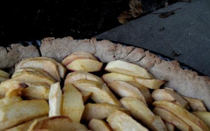 recette - la tarte normande à la bretonne