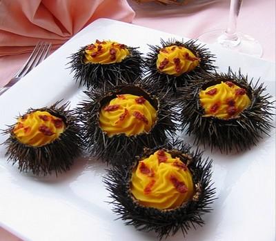 recette - manureva d'oursins
