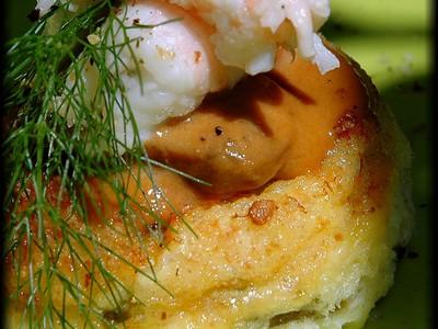 recette - médaillons de cabillaud et salicornes à la sauce langoustine