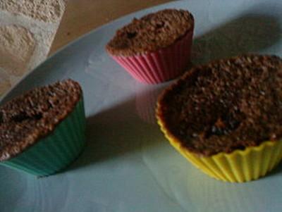 recette - muffin au chocolat