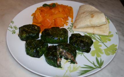 recette - petites bouchées, quinoa et épinards