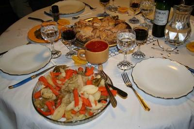 recette - poule au pot farcie henri iv