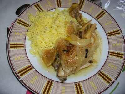 recette - poulet bombo