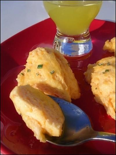 recette - quenelles d'abricots comme un nuage et sauce au limoncello