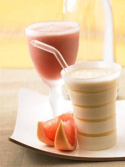 recette - smoothies au pamplemousse de floride