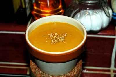 recette - soupe châtaignes et potimarron