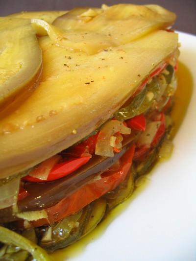 Recette terrine aux l gumes du soleil facile et rapide - Terrine de legumes facile et rapide ...