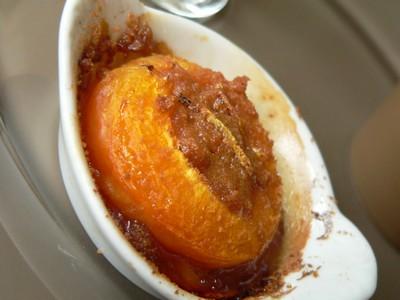 recette - abricots rôtis biscuités