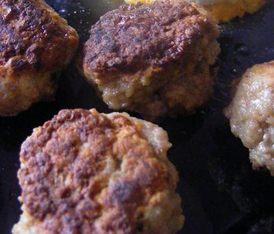 recette - boulettes de boeuf à la suédoise