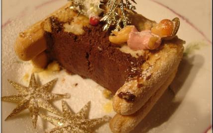 recette - bûche aux 2 chocolats