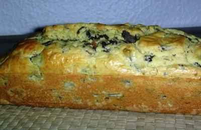 recette - cake aux gésiers confits de canard et champignons