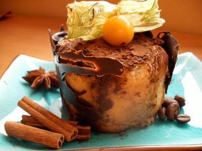 recette - charlotte chocolat noisette