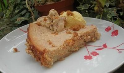 recette - cheesecake au potiron