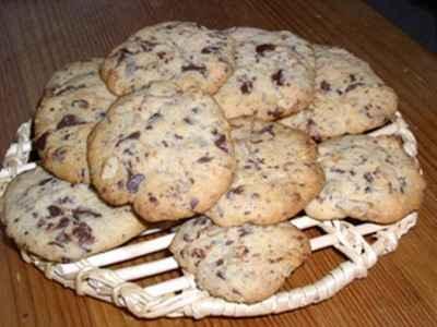 recette cookies moelleux au chocolat et aux noix facile et rapide. Black Bedroom Furniture Sets. Home Design Ideas