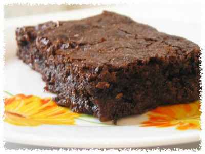 recette - délicieux brownie