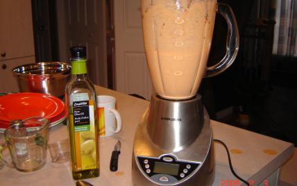 recette - emulsion de poivron