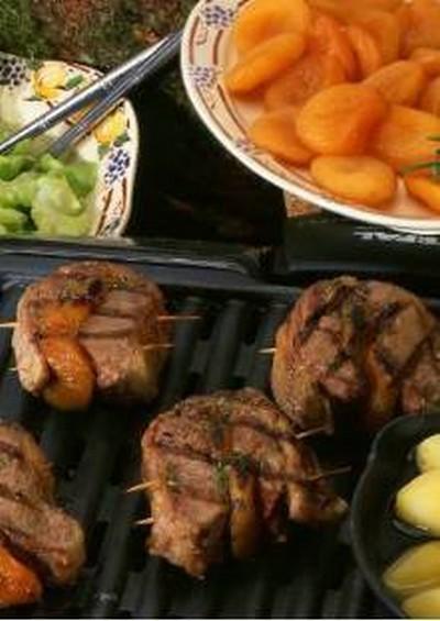 recette - filets d'agneau aux abricots secs