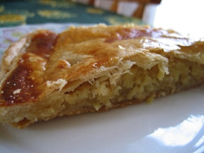 recette - galette des rois à la frangipane et aux pommes fondantes