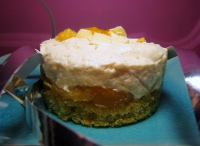 recette - gâteau à la mousse chocolat blanc