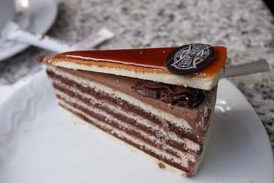 recette - gâteau dobos