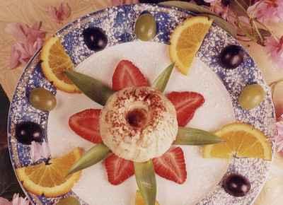 recette - kougelhopf glacé au kirsch d'alsace