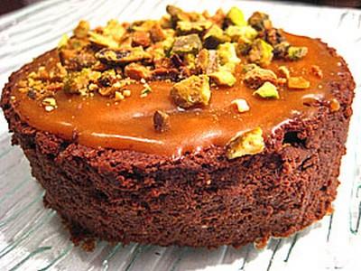recette - mousseux au chocolat et caramel liquide