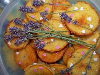 recette - muffins abricot et lavande