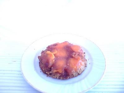 recette - petits renversés aux abricots au caramel abricoté