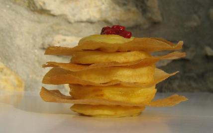 recette - pomme feuilletée