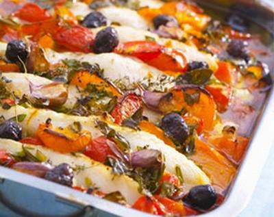 recette - ragoût de poisson aux légumes