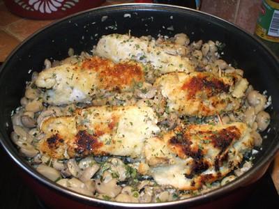 recette - roulé de poulet champêtre