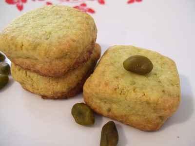 recette - sablés pistache