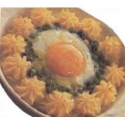 recette - saumon à la mousse de courgettes du chef