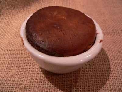 recette - soufflé chaud au chocolat