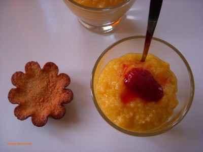 recette - soupe de mangue au gingembre