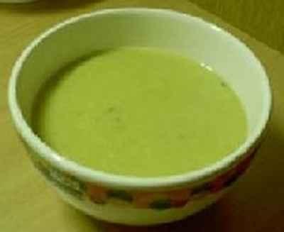 recette - soupe poireaux pommes de terre